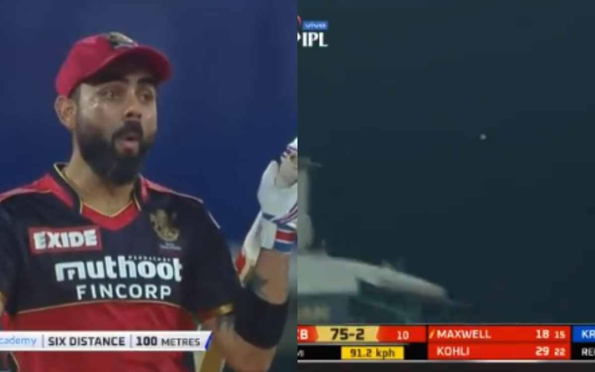 Cricket Image for VIDEO : ग्लेन मैक्सवेल ने लगाया 100 मी लंबा छक्का, स्टेडियम से बाहर जाती गेंद को द