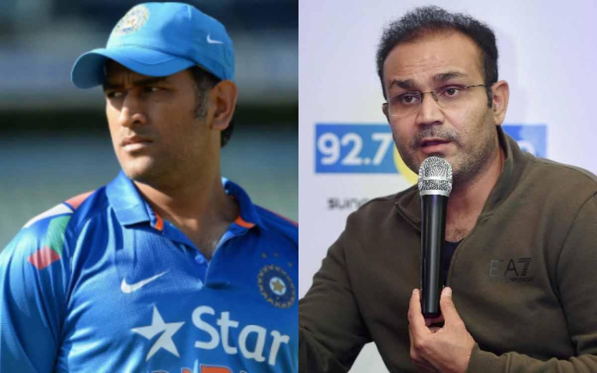 Cricket Image for VIDEO : वीरेंद्र सहवाग ने किया बड़ा खुलासा, 'एमएस धोनी हो चुके हैं राहुल द्रविड़ क