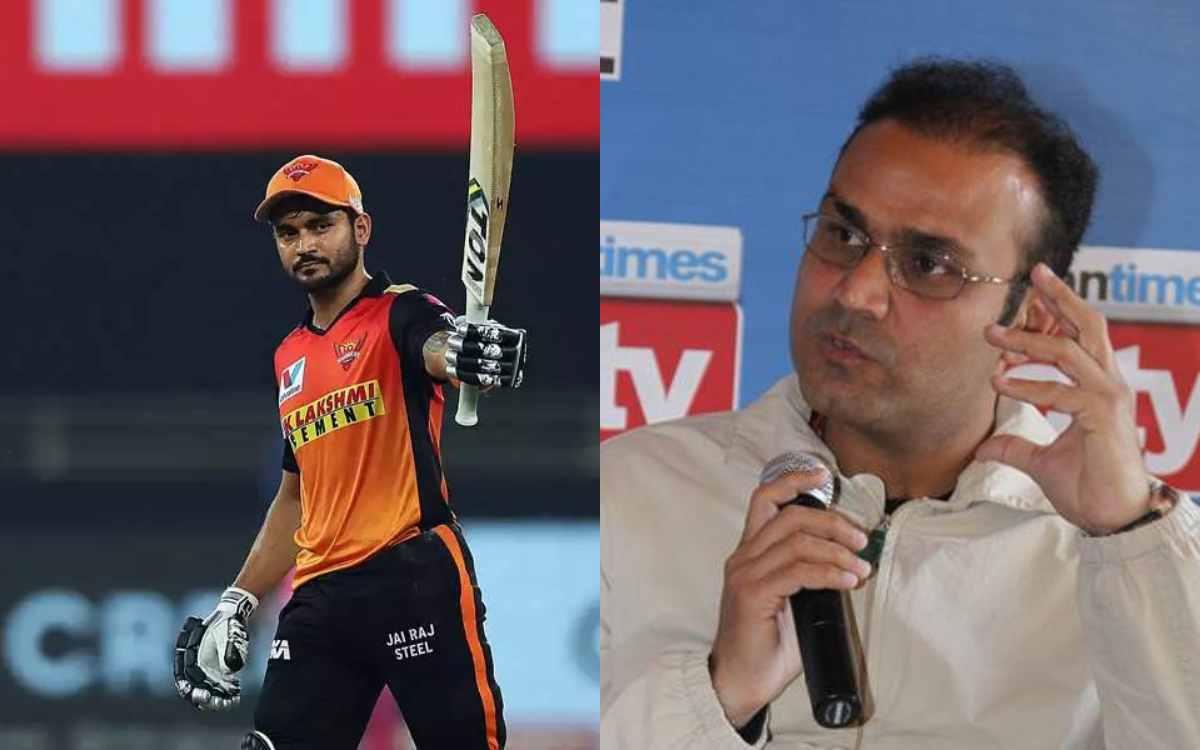 Cricket Image for हैदराबाद की धीमी बैटिंग पर फूटा सहवाग का गुस्सा, बिना नाम लिए मनीष पांडे पर साधा न