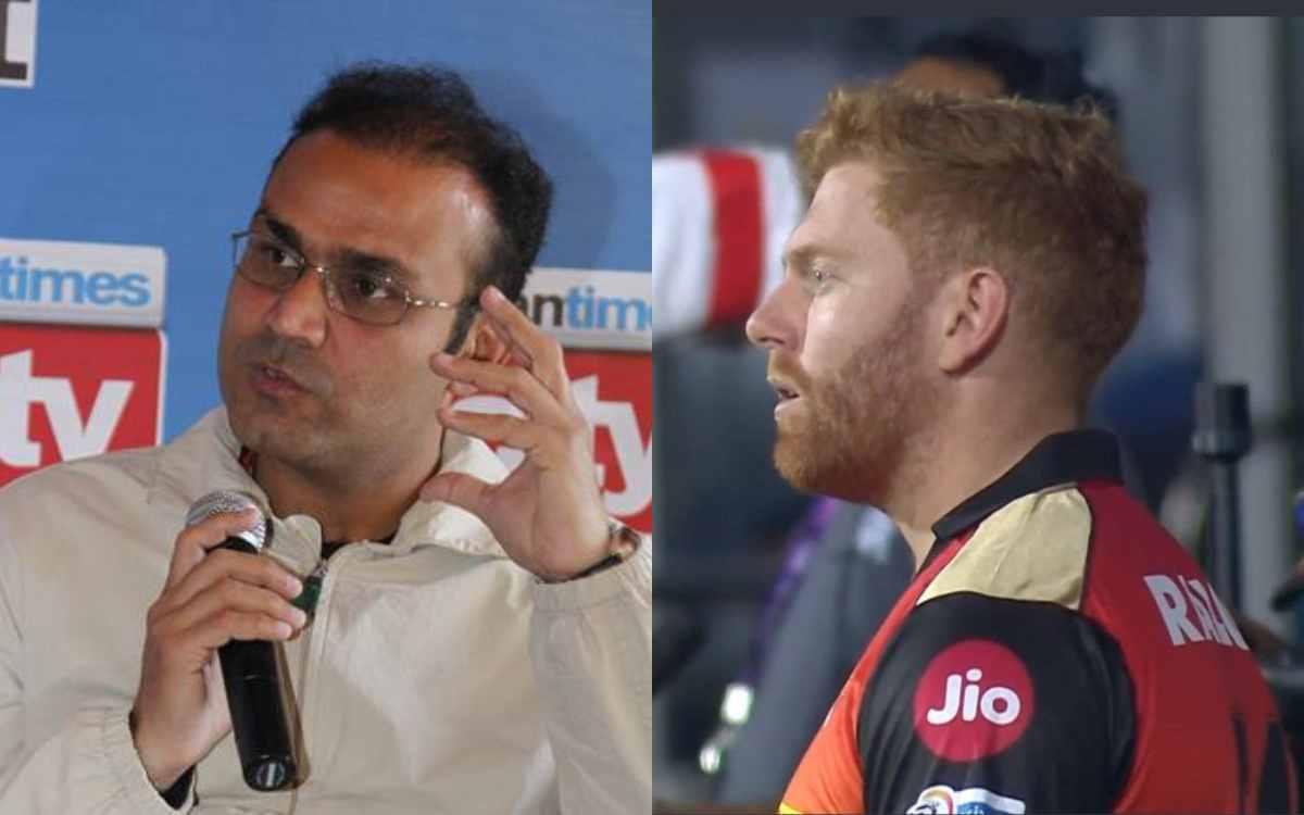 Cricket Image for 'सुपर ओवर में क्या जॉनी बेयरस्टो टॉयलेट गए थे', सनराइजर्स हैदराबाद के फैसले से नाख