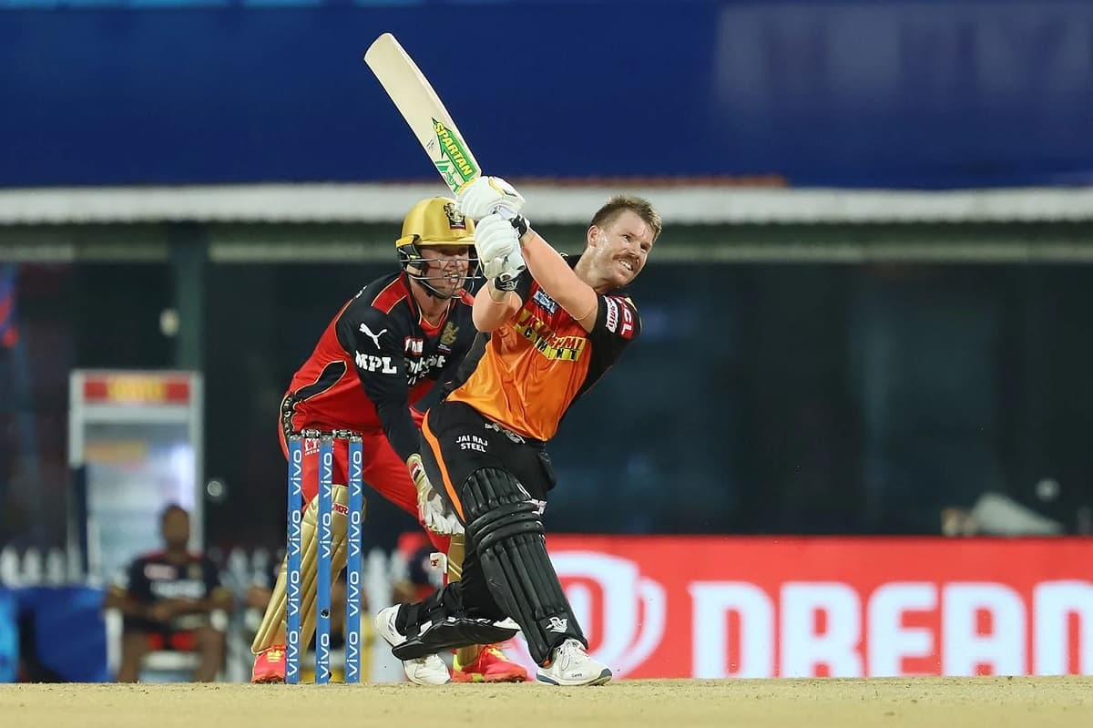 Cricket Image for 'Quite Disappointed': Warner Hits Out Batters For Playing Cross-Batted Shots