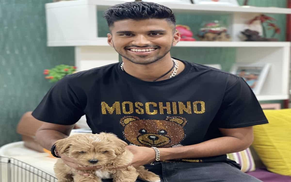 Washington Sundar named the pet dog 'Gaba' after historic win in test series against australia