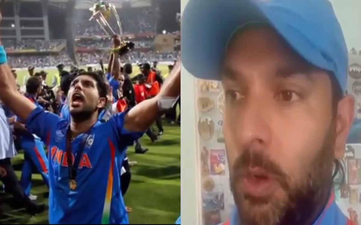 Cricket Image for VIDEO: ਟੀਮ ਇੰਡੀਆ ਦੀ ਪੁਰਾਨੀ ਜਰਸੀ ਵਿਚ ਨਜ਼ਰ ਆਏ ਯੁਵਰਾਜ , ਵੀਡੀਓ ਸਾਂਝਾ ਕਰਦਿਆਂ ਦੱਸੀ 2011