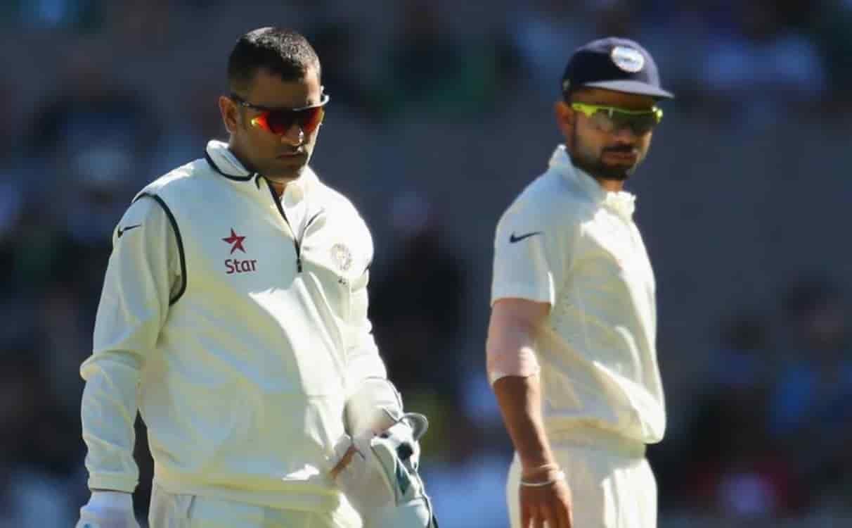 Cricket Image for 60 टेस्ट के बाद विराट कोहली और एमएस धोनी में कौन है ज्यादा सफल कप्तान, देखें आंकड़