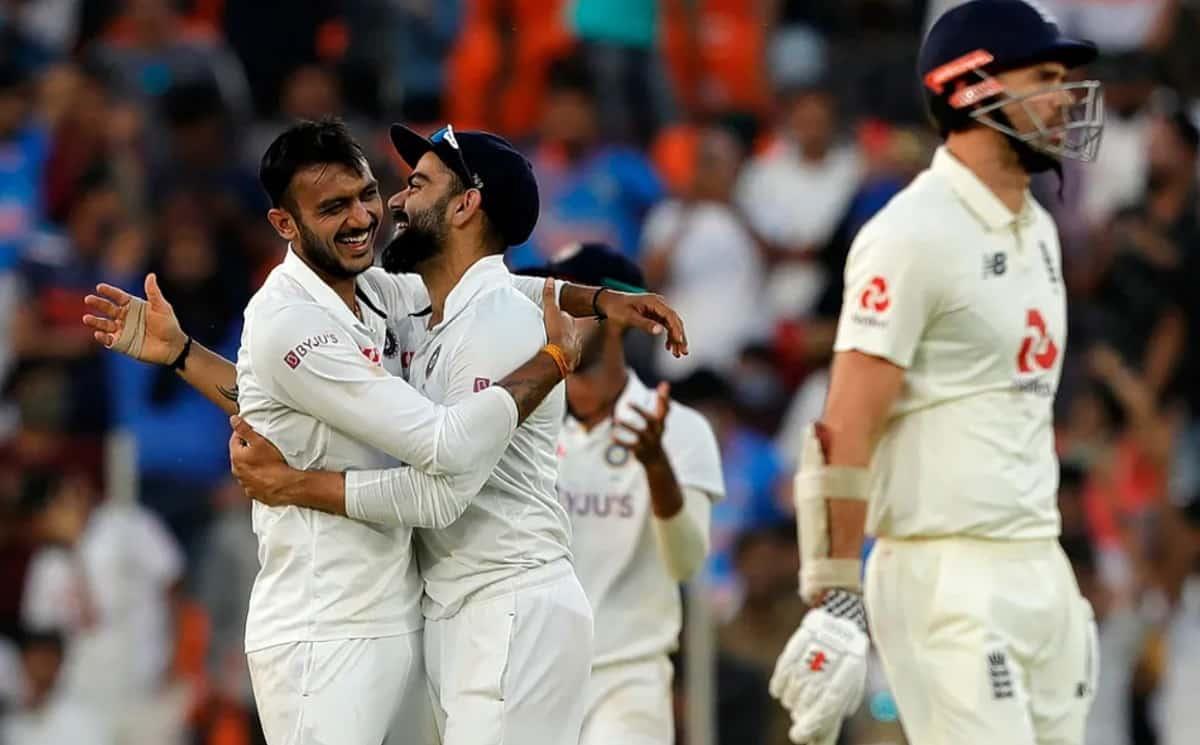 Cricket Image for अक्षर पटेल ने बताया,इस कारण टेस्ट सीरीज में इंग्लैंड के बल्लेबाज उनके खिलाफ हुए फ्