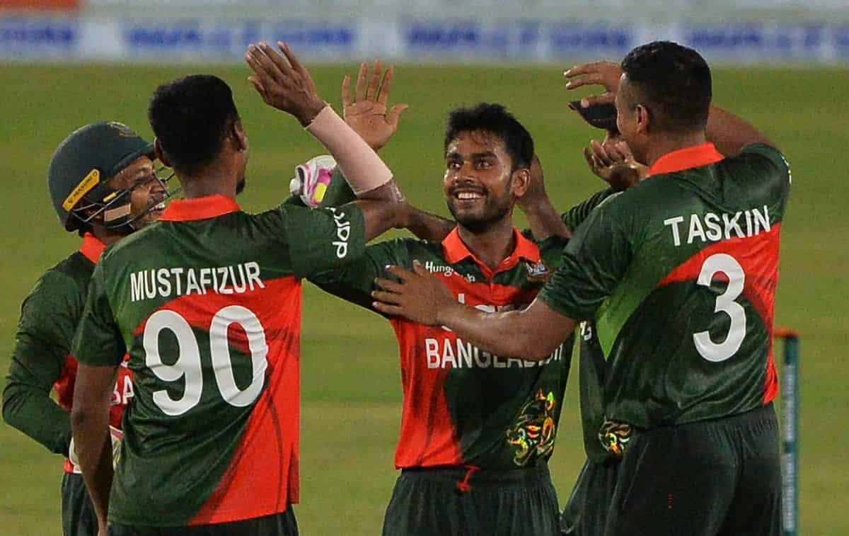 Cricket Image for 2nd ODI: बांग्लादेश ने डकवर्थ लुईस नियम के अनुसार श्रीलंका को 103 रनों से रौंदा, प