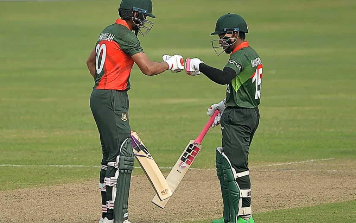 Bangladesh sets 258 runs target for sri lanka in first odi