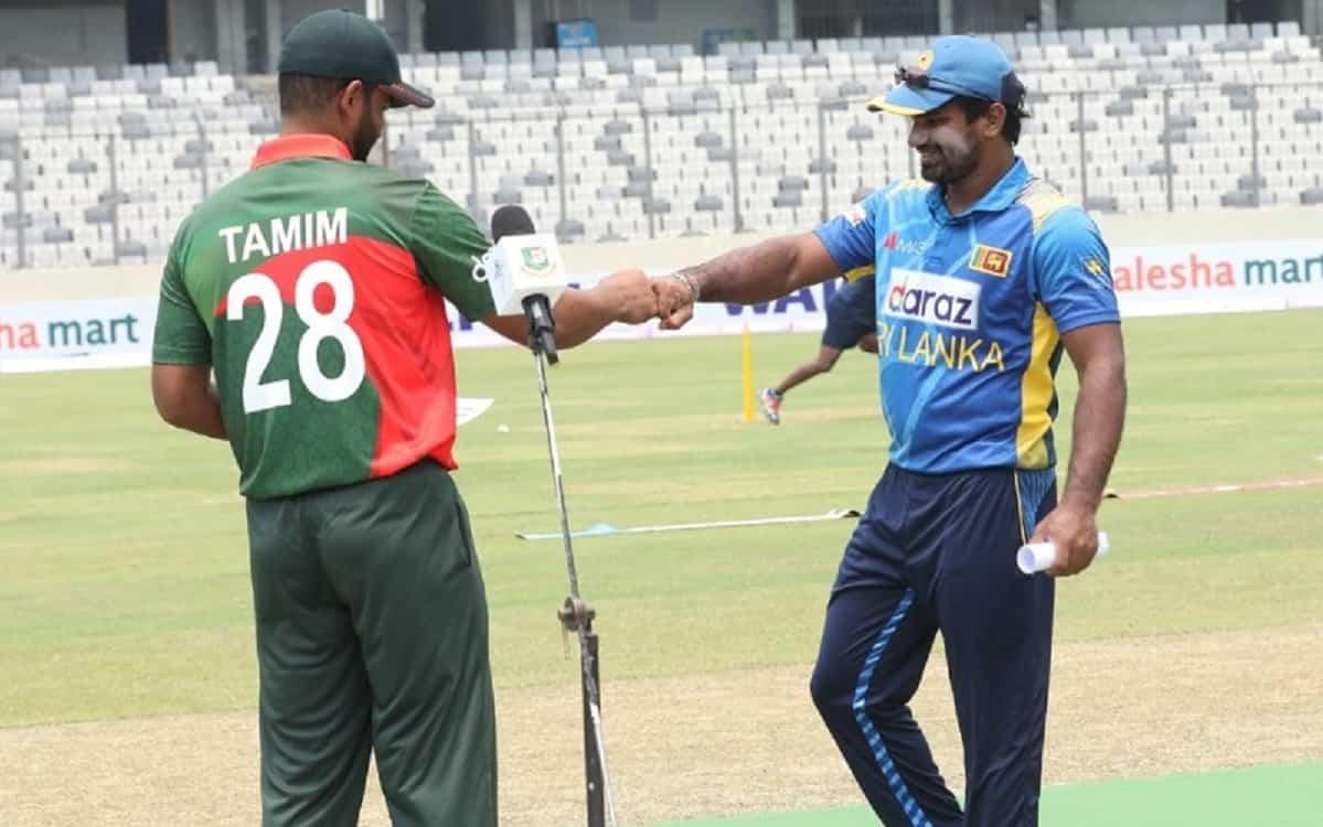 Sri Lanka opt to bat first against Bangladesh in third odi