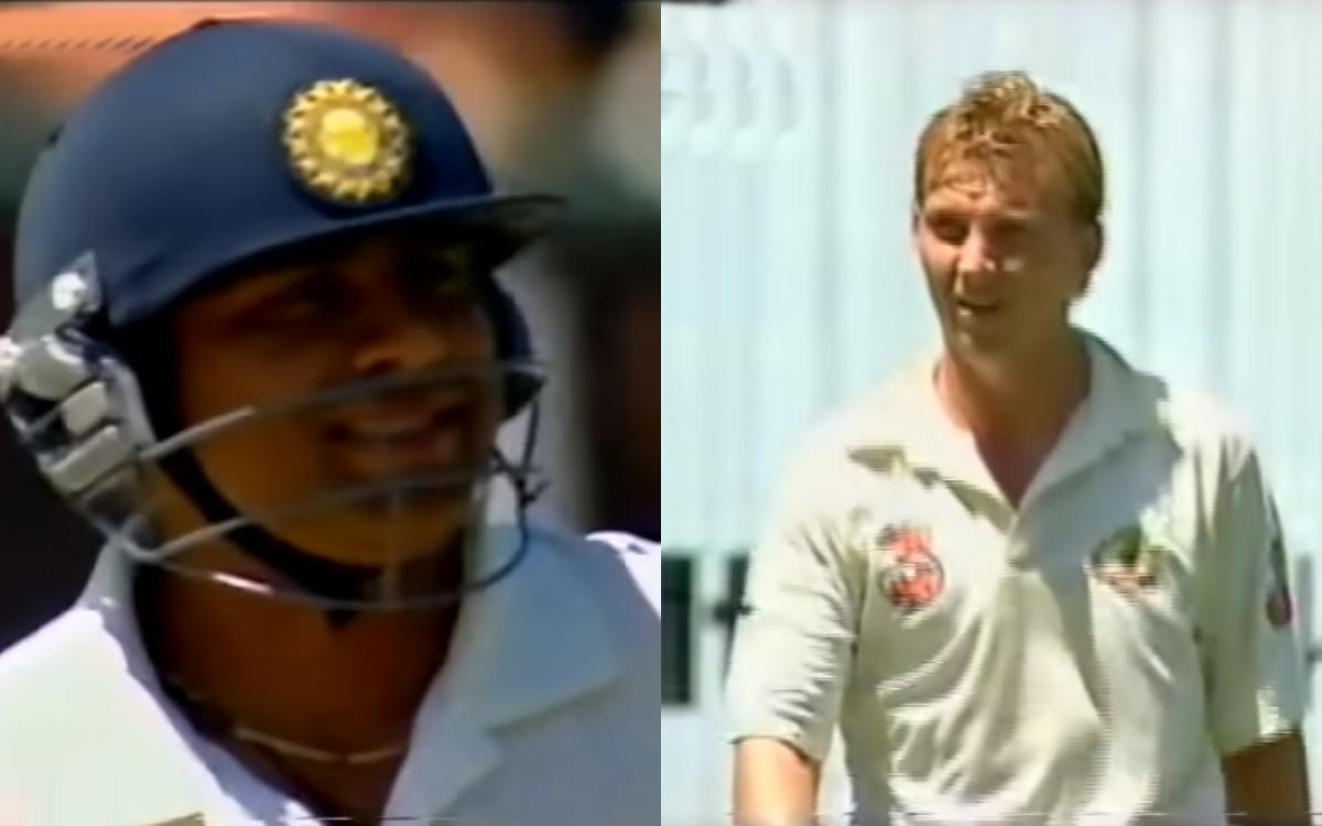 Cricket Image for Brett Lee Bamboozled Aakash Chopra In 2004
