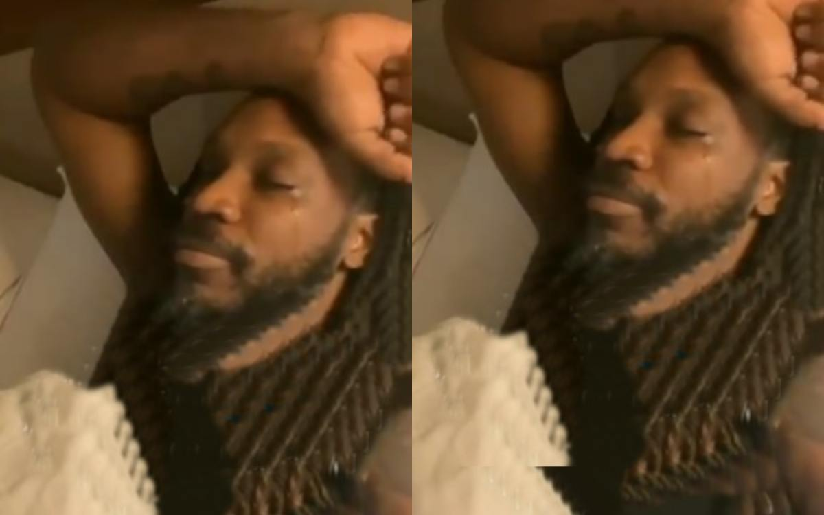 Cricket Image for Chris Gayle Becomes Emotional After Remembering His Mother