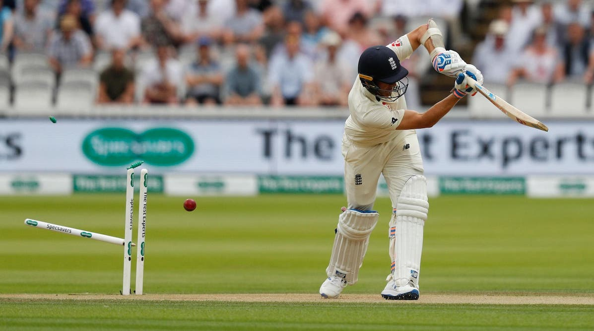 Clean bowled At Lords