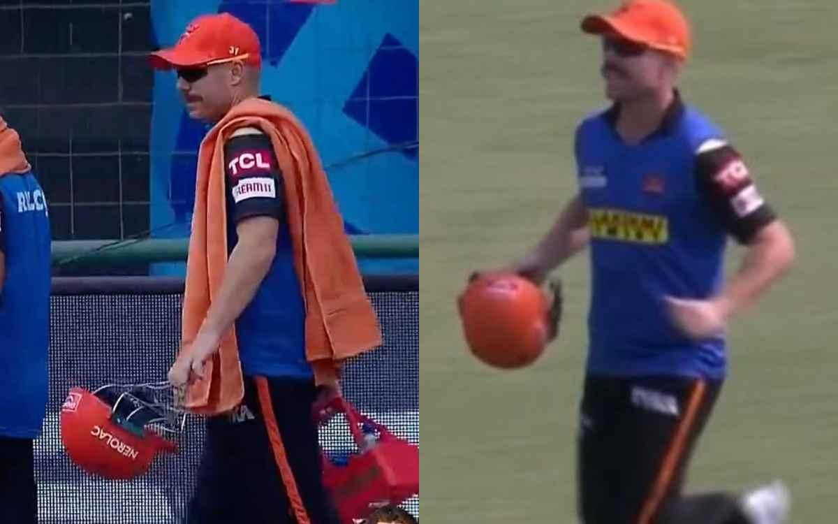Cricket Image for IPL 2021: डेविड वॉर्नर की हालत देखकर भड़के फैंस, कहा आईपीएल के इतिहास का काला दिन