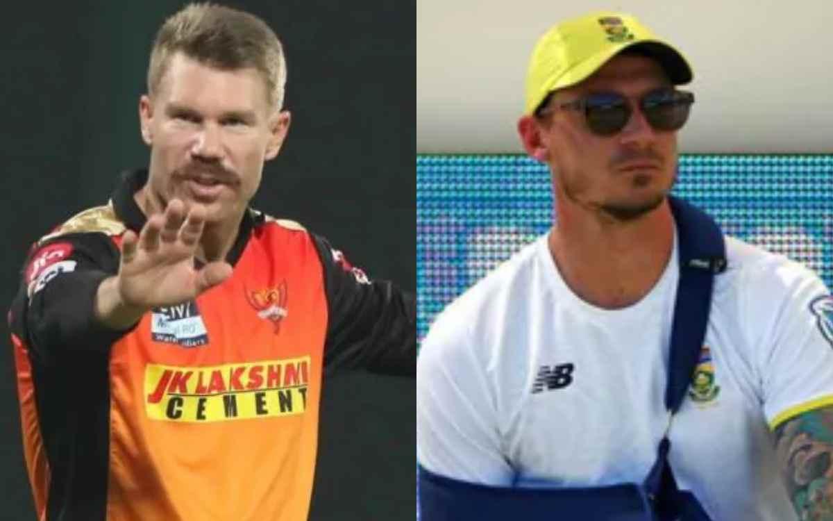 Cricket Image for डेल स्टेन ने कहा, शायद डेविड वॉर्नर का सनराइजर्स हैदराबाद के लिए यह आखिरी आईपीएल ह