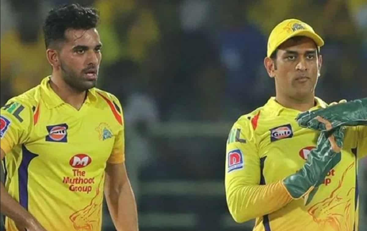 Cricket Image for MS Dhoni taught me how to take responsibility: Deepak Chahar