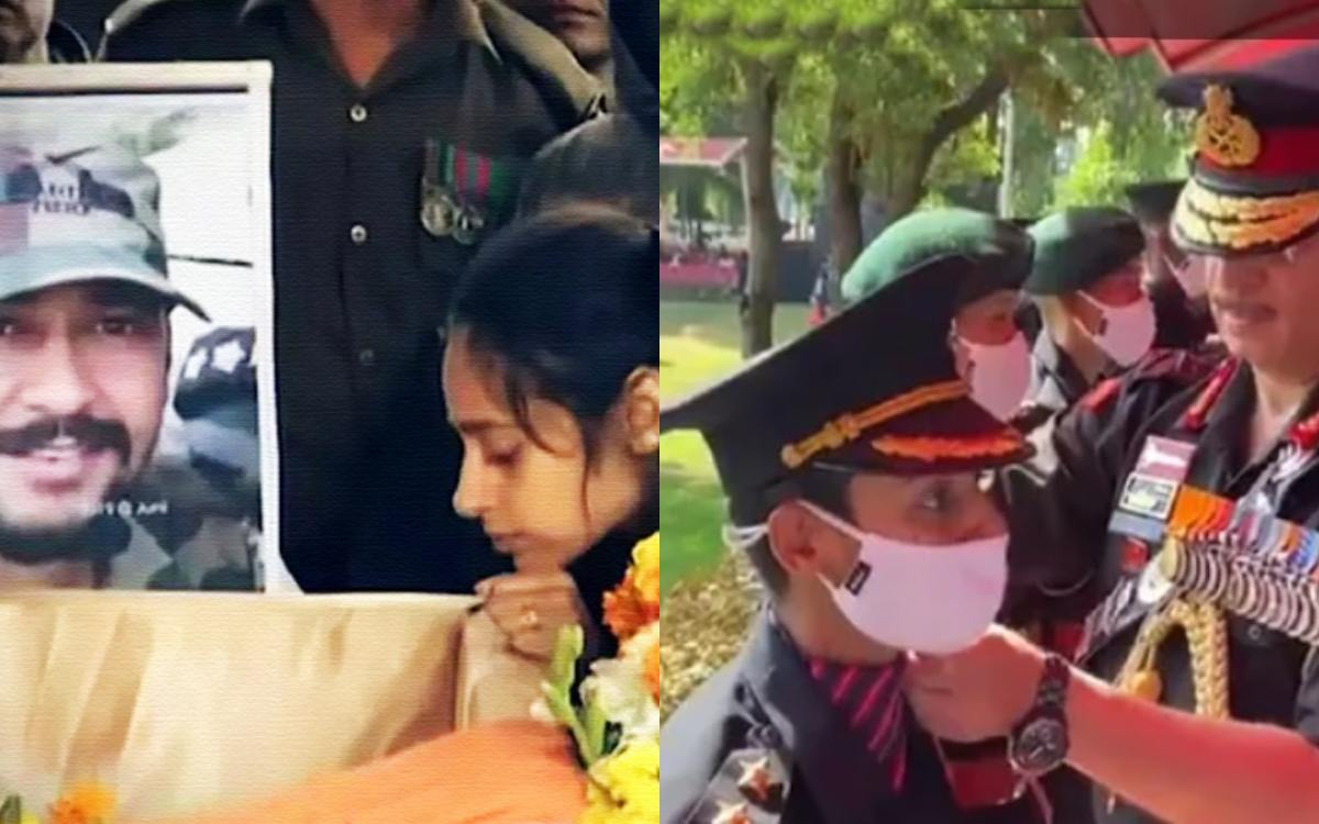 Cricket Image for Gautam Gambhir Congratulates Martyr Major Vibhutis Wife Nikita On Joining Indian A