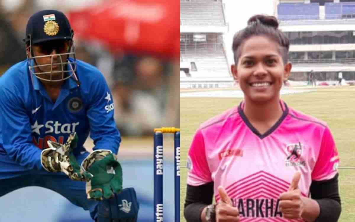 How Indrani Roy's 'Idol' MS Dhoni's Tips Helped In Improving Her Game