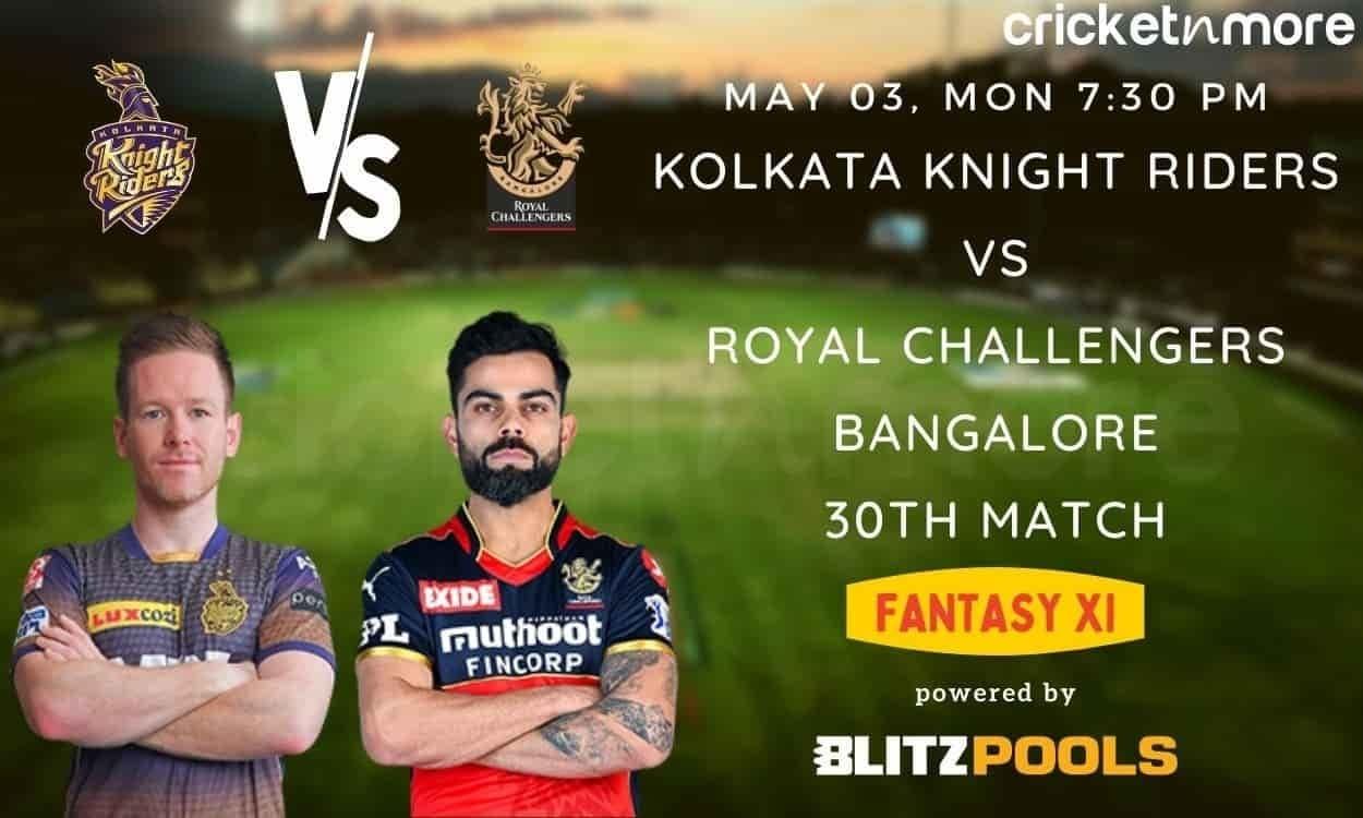 IPL 2021, KKR v RCB – Blitzpools Fantasy XI Tips, Prediction & Pitch Report