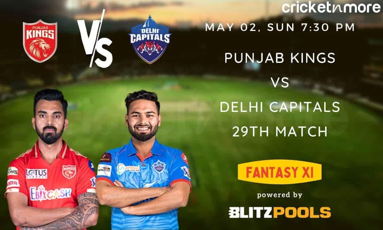IPL 2021, PBKS v DC – Blitzpools Fantasy XI Tips, Prediction & Pitch Report