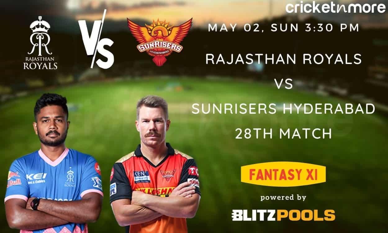 IPL 2021, RR v SRH – Blitzpools Fantasy XI Tips, Prediction & Pitch Report