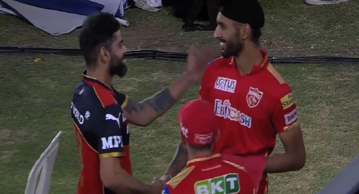 IPL 2021 - Virat Kohli appreciates Harpreet Brar for his stunning performance against RCB