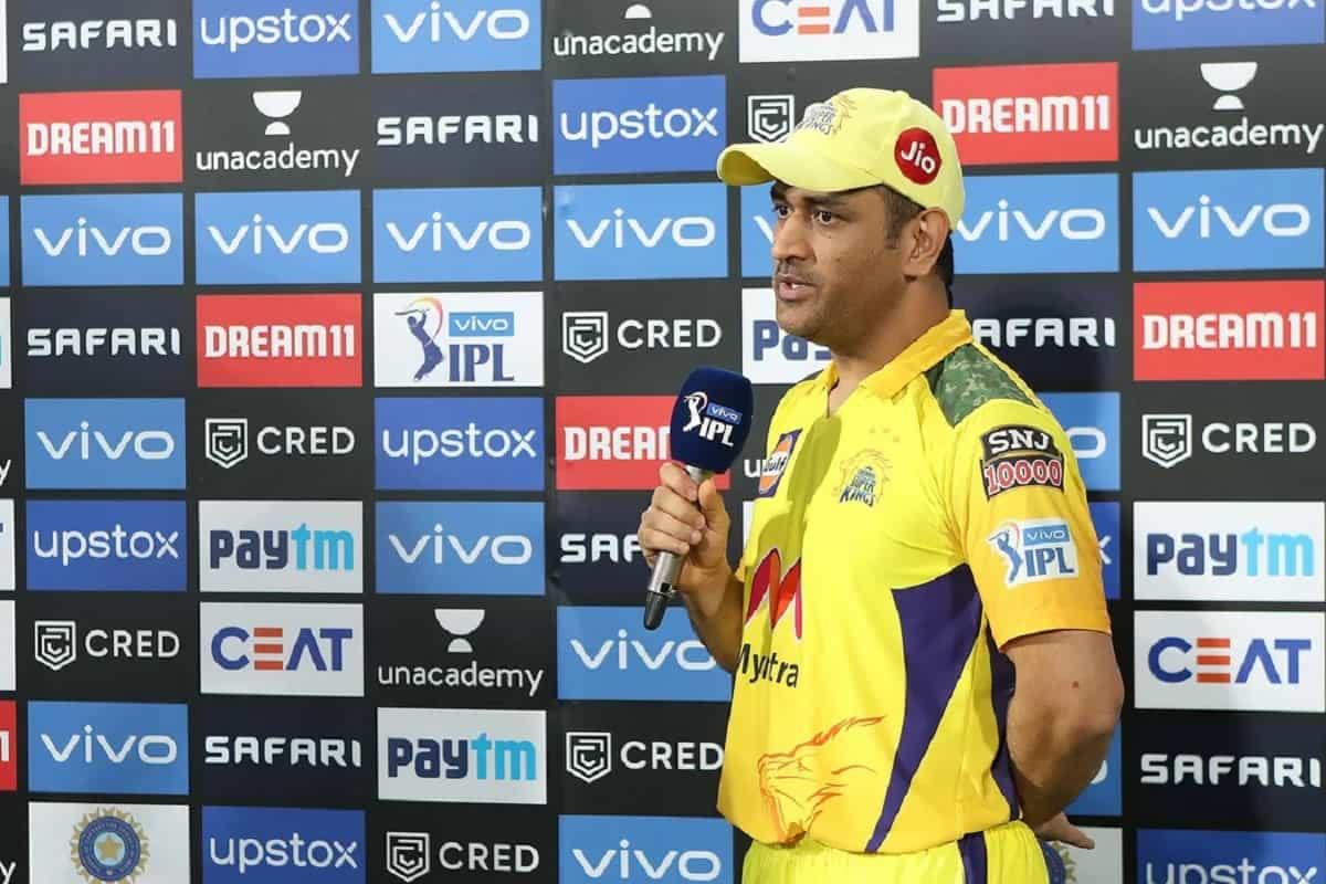 Cricket Image for IPL 2021: मुंबई से हार के बाद गेंदबाजों और फिल्डरों पर भड़के CSK के कप्तान धोनी