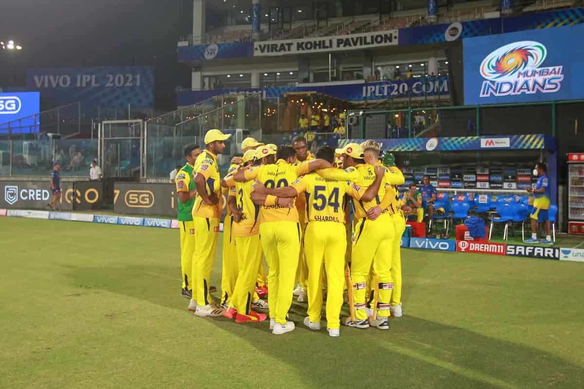 IPL 2021: 3 Members of Chennai Super kings have been testes as corona positive