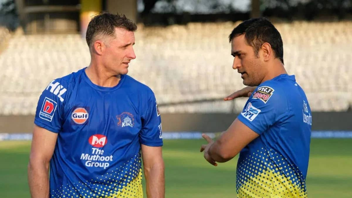 IPL 2021 CSK batting coach Hussey tests covid-19 positive, sample sent for re-test