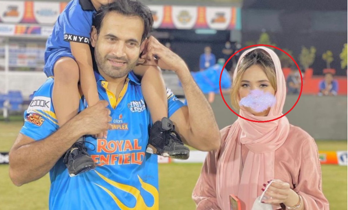Cricket Image for Irfan Pathan Reacts After Getting Trolled For Blurring His Wife Safa Baig Face