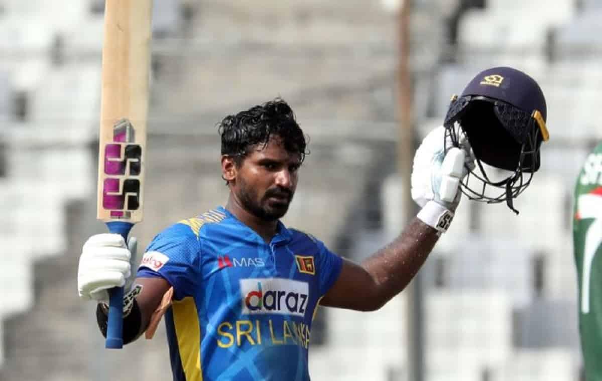 Sri Lanka sets 287 runs target for bangladesh in third odi