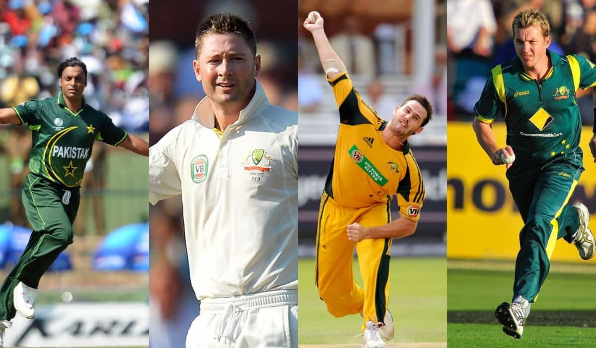 Lee, Tait or Akhtar? Clarke names the fastest bowler he has faced