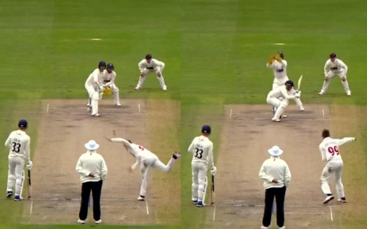 Cricket Image for Marnus Labuschagne Leg Spin Bouncer Delivery In County Championship 2021