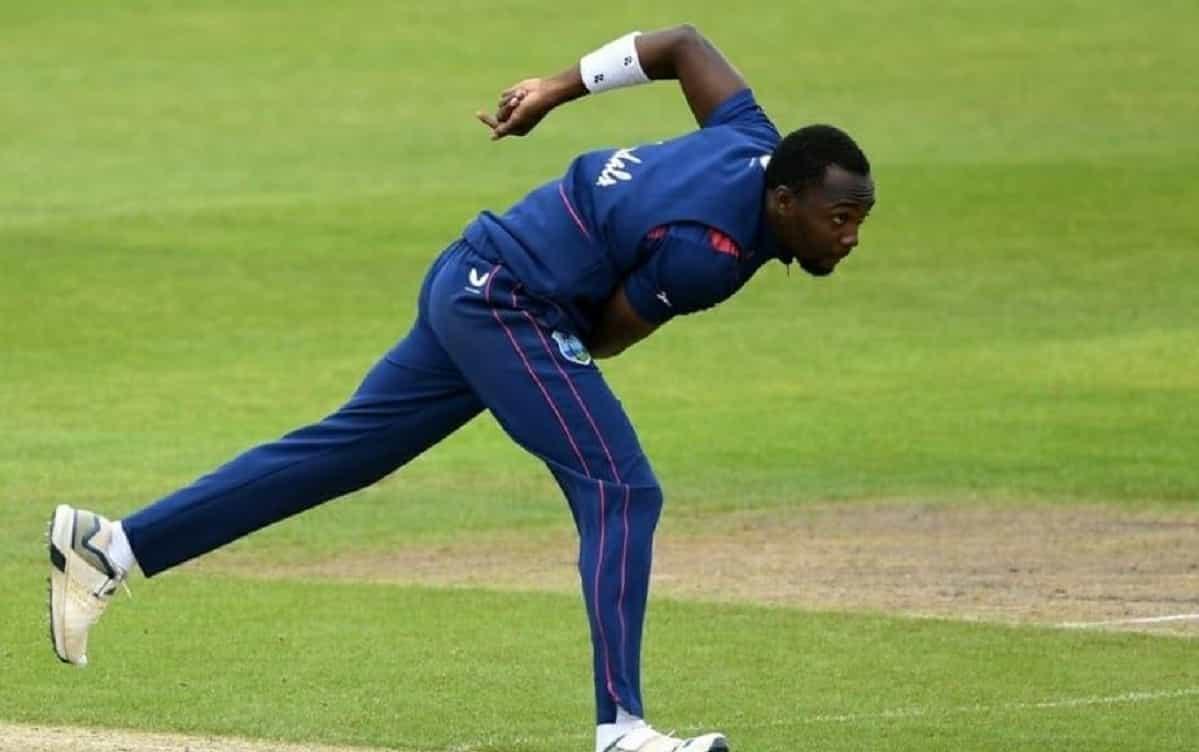 Cricket Image for साउथ अफ्रीका सीरीज से पहले वेस्टइंडीज कैंप में एक गेंदबाज हुआ कोरोना पॉजिटिव, 43 स