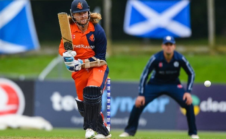 Cricket Image for नीदरेंलैंड के इस बल्लेबाज ने वनडे में बनाया अनोखा रिकॉर्ड,ऐसा करने वाले वाले दुनिय