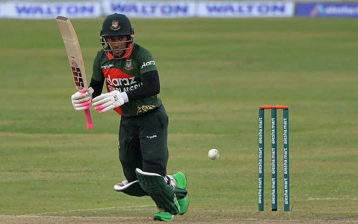 Cricket Image for BAN vs SL: मुशफिकुर रहीम ने ठोका शानदार शतक, बांग्लादेश ने श्रीलंका को दिया 247 रन
