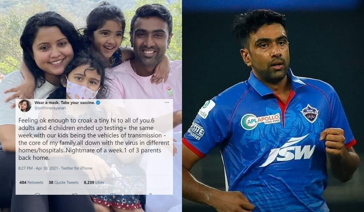 R Ashwin's Wife shares pain how her family has been dealing with Covid -19 in Hindi