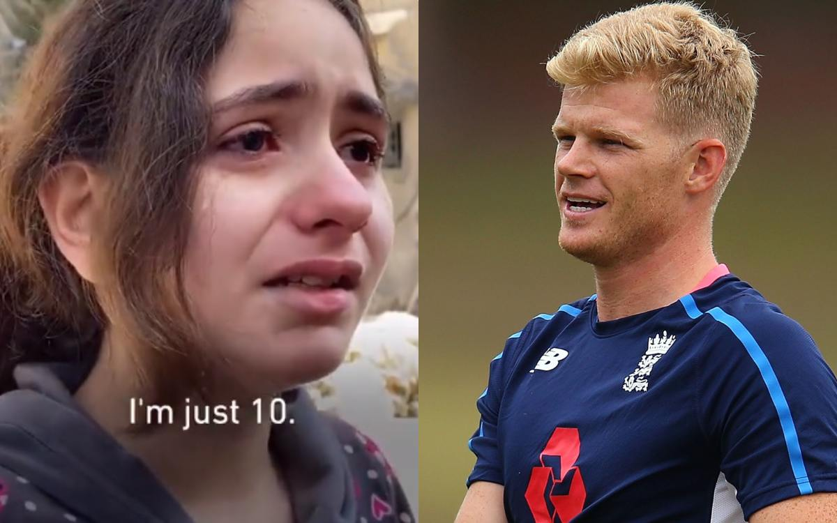 Cricket Image for Sam Billings Emotional After 10 Year Old Palestinian Girl Breaks Down