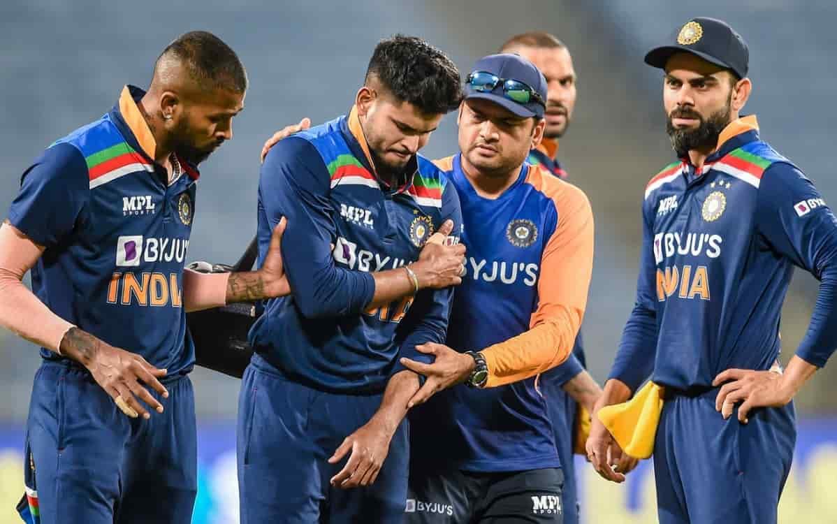 Cricket Image for श्रेयस अय्यर को लेकर आई अच्छी खबर, स्टार बल्लेबाज ने VIDEO पोस्ट कर दिया अपना फिटन
