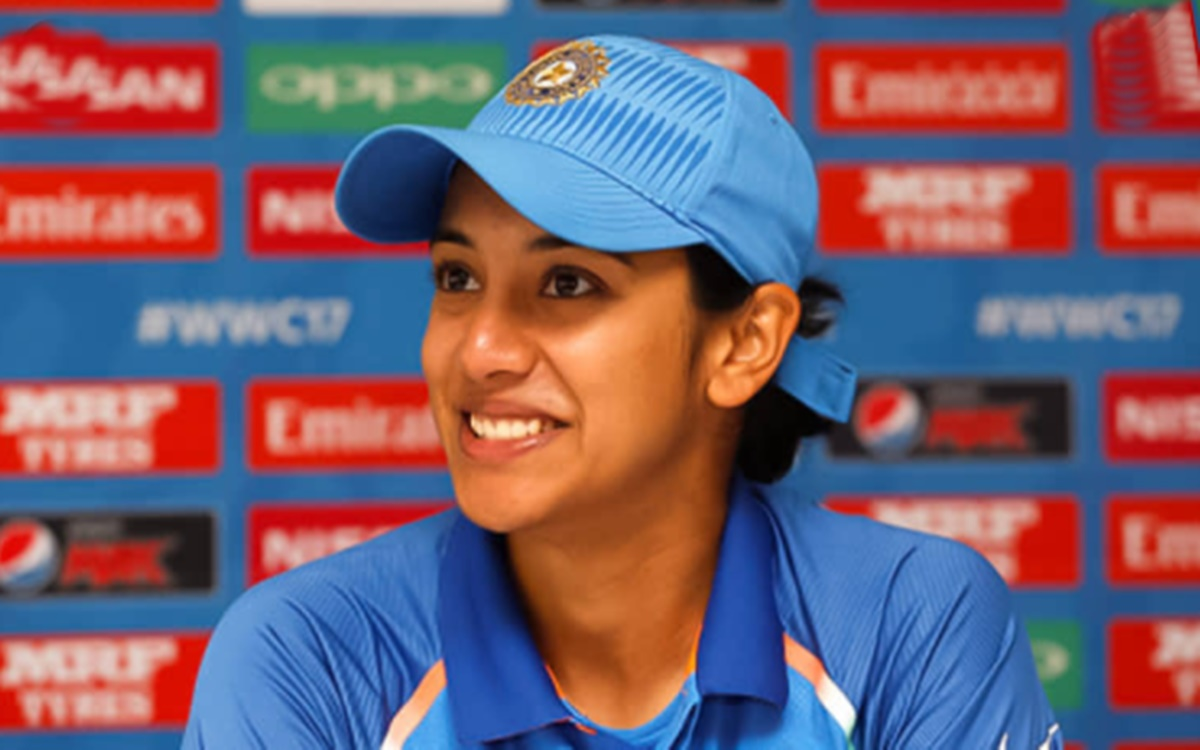 Cricket Image for Smriti Mandhana Talks About Equal Pay For Both Genders