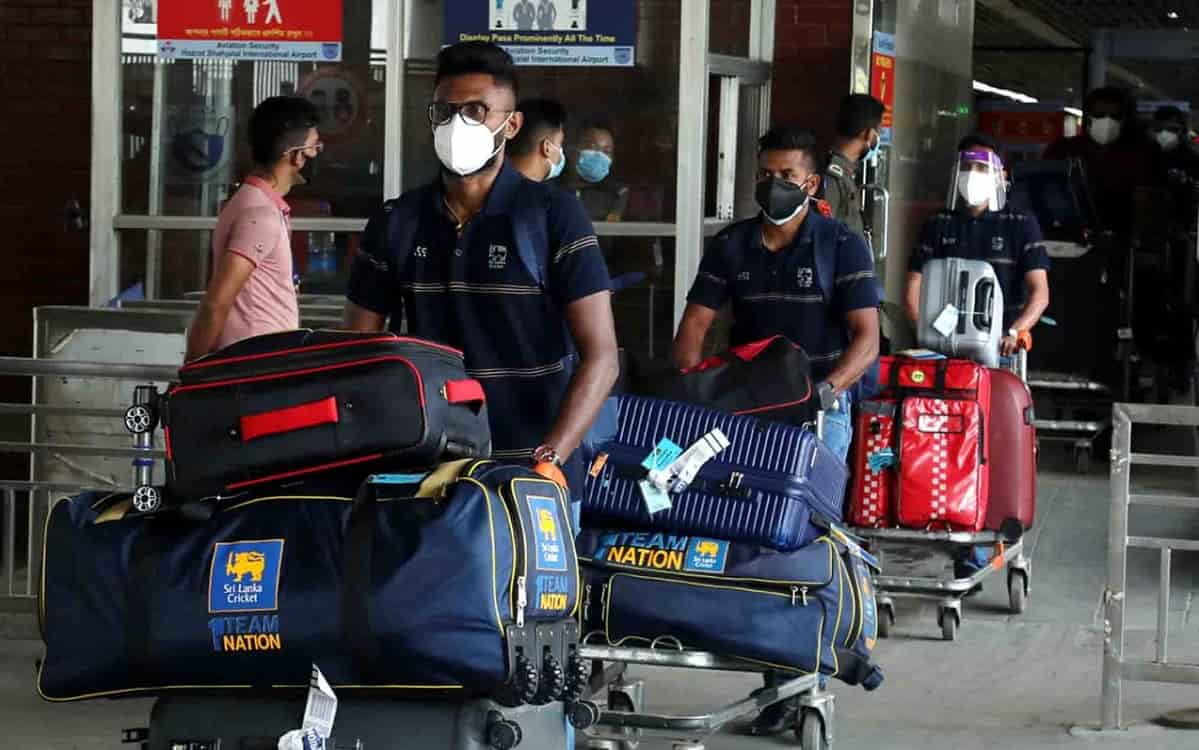 Sri Lanka arrive in Bangladesh for three-match ODI series