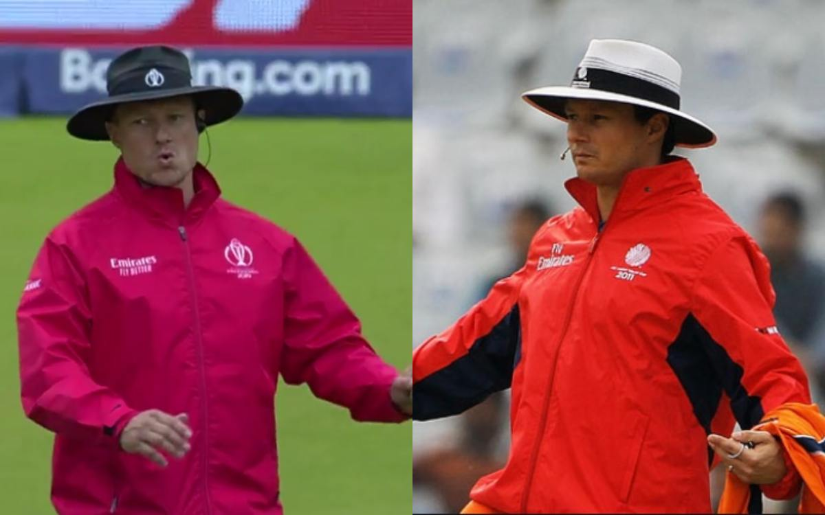 Cricket Image for Umpire Richard Kettleborough Is Unlucky For Team India