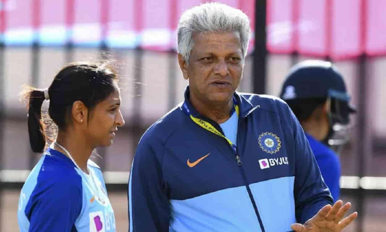 Cricket Image for डे-नाइट टेस्ट की घोषणा के बाद,पूर्व हेड कोच डब्ल्यूवी रमन ने भारतीय महिला क्रिकेट