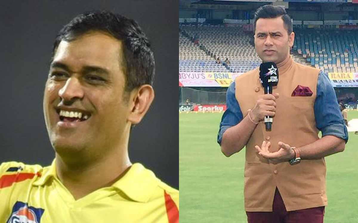 Cricket Image for क्या अगले सीज़न में धोनी को रिटेन करेगी चेन्नई सुपरकिंग्स ? आकाश चोपड़ा ने दिया सब
