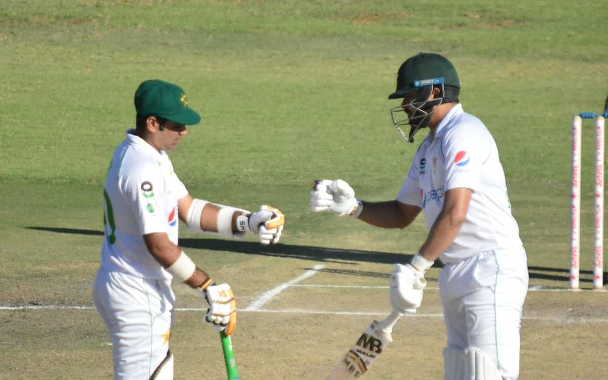 Cricket Image for ZIM vs PAK: Abid Ali And Azhar Ali Centuries Put Pakistan In Strong Position