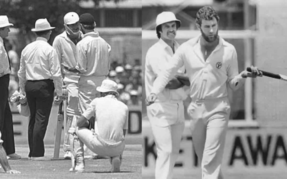 Cricket Image for जब एलुमिनियम का बैट लेकर मैदान पर उतरे थे डेनिस लिली, मैदान पर मच गया था हड़कंप
