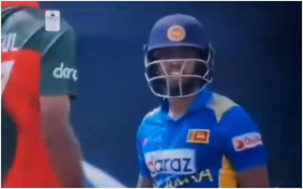 Cricket Image for VIDEO : लाइव मैच में भिड़ गए मेंडिस और इस्लाम, सोशल मीडिया पर वायरल हो रहा है वीडि