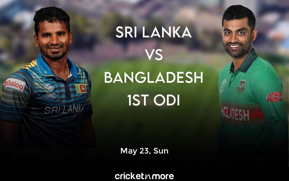 1st ODI: Bangladesh Opt To Bat Against Sri Lanka
