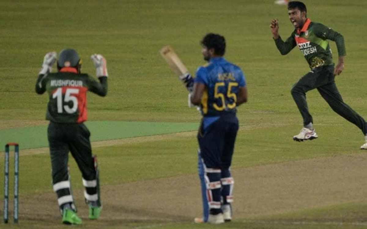 Cricket Image for 23 साल के बांग्लादेशी स्पिनर ने रचा इतिहास, आईसीसी रैंकिंंग में छलांग लगाकर दूसरे