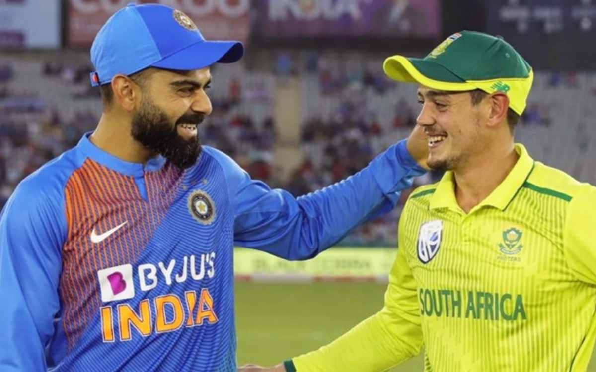 Cricket Image for BREAKING : क्रिकेट फैंस को एक और बड़ा झटका, भारत और दक्षिण अफ्रीका की टी-20 सीरीज