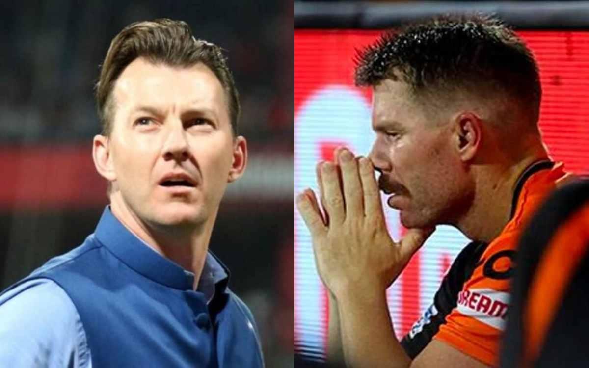 Cricket Image for ब्रेट ली भी हुए सनराइजर्स हैदराबाद की हरकत से नाराज़, कहा- 'मैं हैरान हूं कि वॉर्न