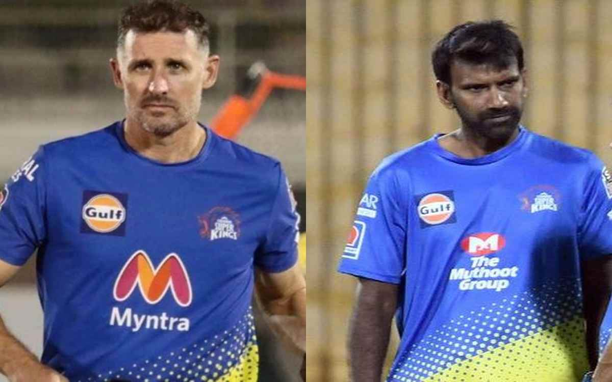 Cricket Image for IPL 2021: Mike Hussey, Lakshmipathy Balaji Fly To Chennai In Air Ambulance, Put In